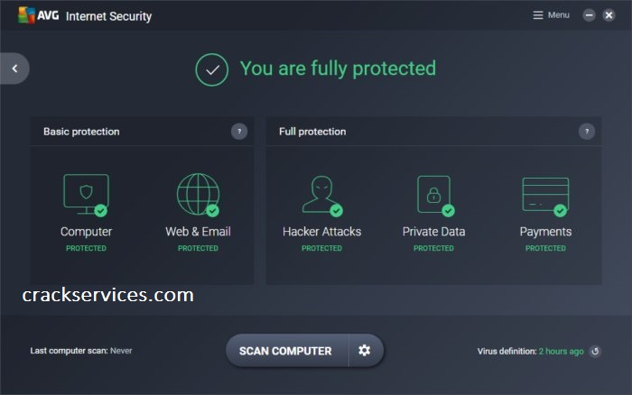 AVG Internet Security Crack 20.10.3157 with License Key Free 2021