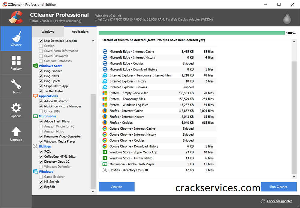 CCleaner Pro 5.76.8269 Crack with Activation key Free Download
