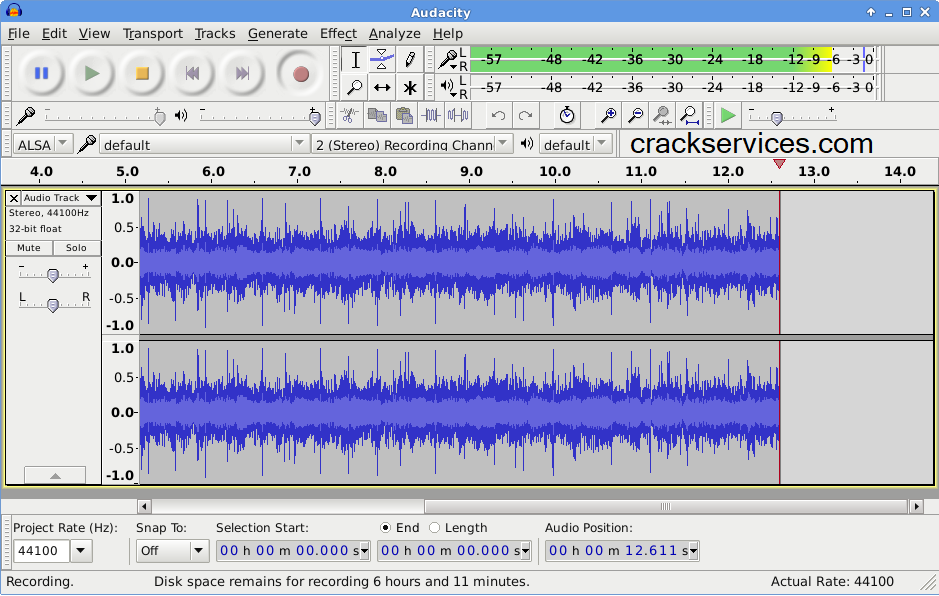 Audacity Pro 2.4.7 Crack With Serial Key 2021 Free Download