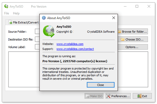 AnyToISO Professional Crack 3.9.6 Build 670 Full Free Download 2021
