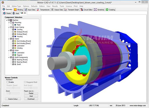 ANSYS Motor-CAD 14.1.5 Crack + Tutorial [Latest Version]