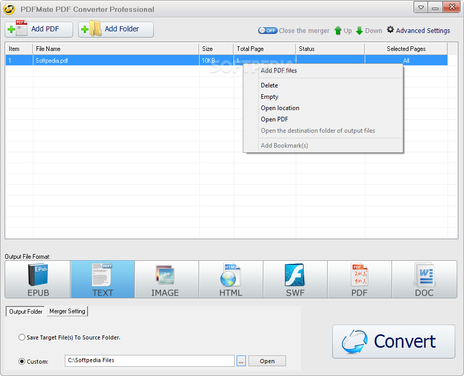 PDFMate PDF Converter Professional with Crack [Latest]