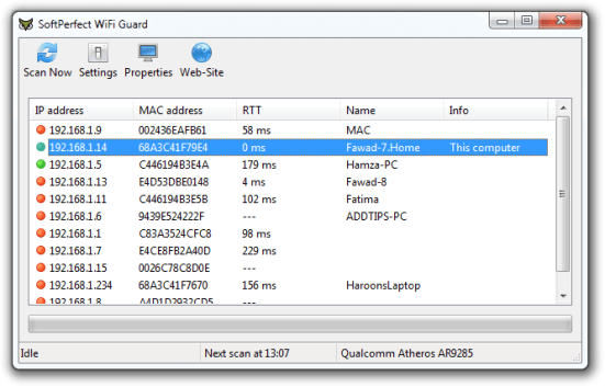 SoftPerfect WiFi Guard 2.2.6 Crack With License Key 2021